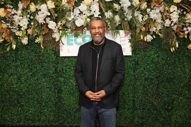 BlacKkKlansman winner Kevin Willmott arrives at EcoLuxeLounge