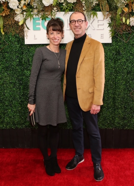 Green Book Oscar Winner Dimiter Marinov and wife arrive at EcoLuxeLounge